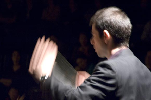 Richard Waldock conducting