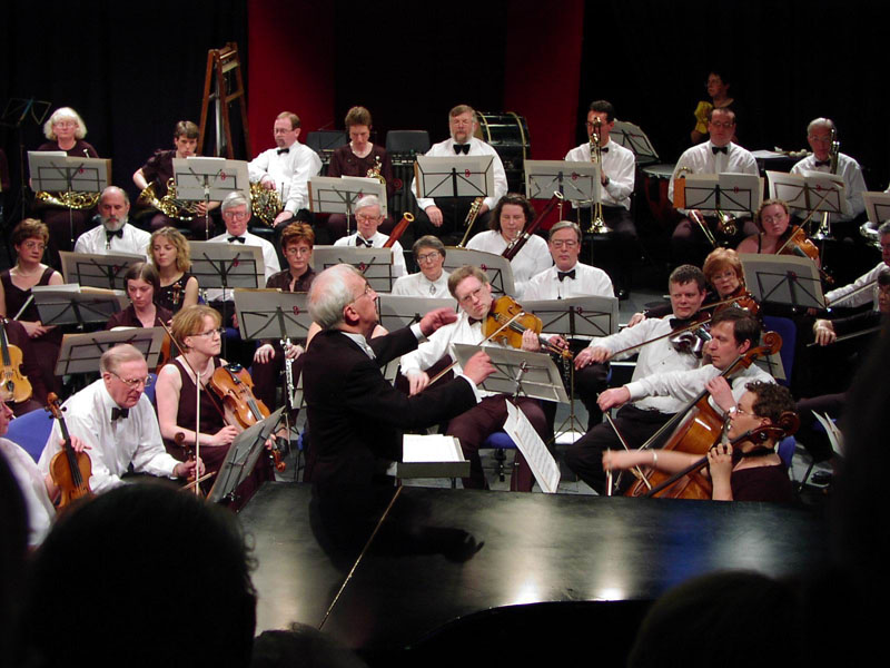 James Morrison conducting